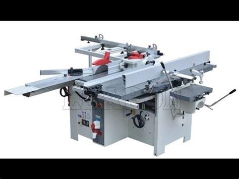 multi function woodworking machine youtube