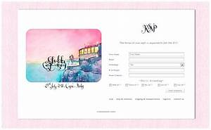a capri wedding introducing a matching wedding website With matching wedding invitations and website