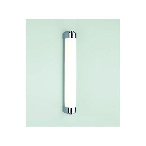 astro lighting belgravia 500 single light led bathroom wall fitting in polished chrome