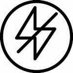 Flash Icon Camera Natural Circle Mode Slash