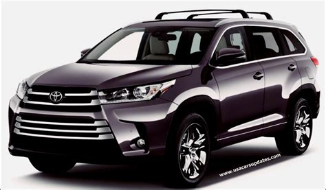 2018 Toyota Highlander Review  Usa Cars Updates