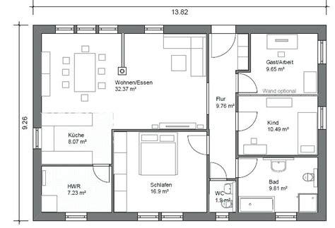 Bungalow Grundrisse 120 Qm by Grundrisse Bungalow Modern Grundriss 120 Qm Rechteckig