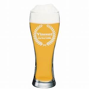 Verre A Bierre : verre a biere personnalise ~ Teatrodelosmanantiales.com Idées de Décoration