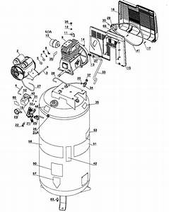 Craftsman Model 919184193 Air Compressor Genuine Parts