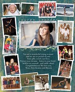 Yearbook ads on pinterest graduation announcements yearbooks and for Senior yearbook ad ideas