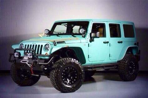 Aqua Blue Jeep Wrangler I Needs It Pinterest
