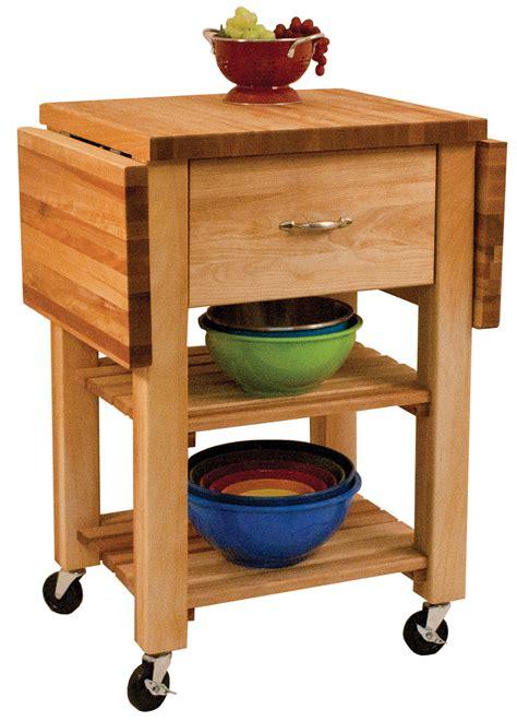 kitchen island cart with drop leaf catskill craftsmen drawer drop leaf cart model