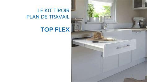 plan travail cuisine castorama kit tiroir plan de travail topflex 679075 castorama