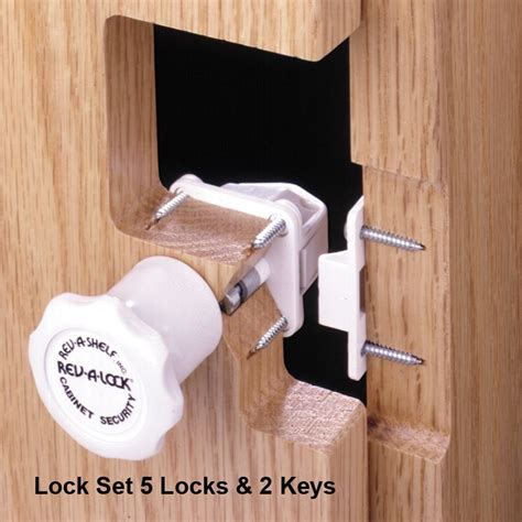 Magnetic Locks For Gun Cabinets by Rev A Shelf Rev A Lock Magnetic Lock Set Ral 101 1