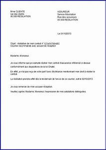 Résiliation Assurance Auto Loi Chatel : modele lettre resiliation loi chatel assurance assurance resilie ~ Medecine-chirurgie-esthetiques.com Avis de Voitures