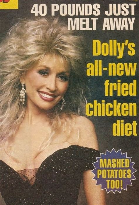dolly parton fried chicken diet funny joke pictures