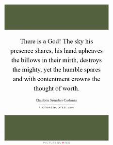 There is a God!... Charlotte Cushman Quotes