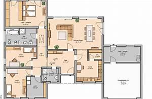 Grundrisse Für Bungalows 4 Zimmer : bungalow trio khc bautr ger gmbh ~ Sanjose-hotels-ca.com Haus und Dekorationen