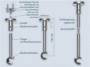 Gardinenstange An Decke Befestigen : gardinenstange top 20 f r montage an der decke 1 l ufig ~ Sanjose-hotels-ca.com Haus und Dekorationen