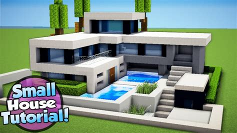 Minecraft How To Build A Small Modern House Tutorial (#16