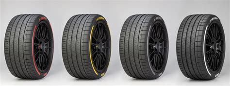 Pirelli Launches Colored Tires And An