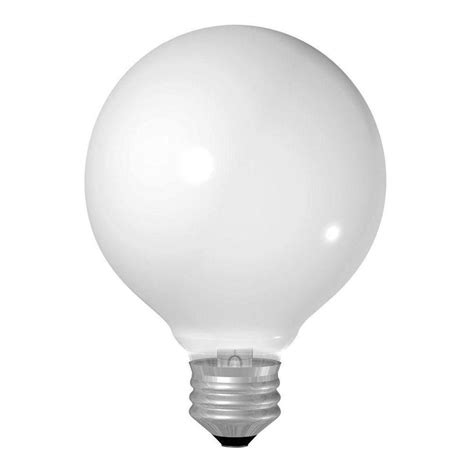 ge 60 watt incandescent g25 globe soft white
