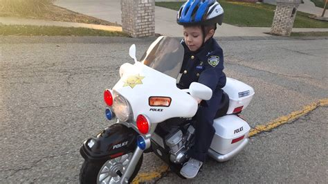 Will Greyson Catch The Bad Guy On His Police Motorcycle