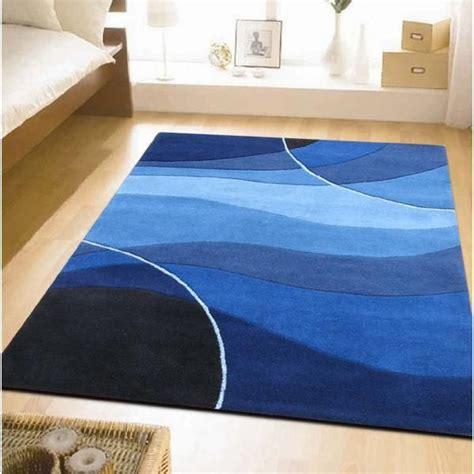 modern blue area rugs blue rugs  bedroom blue rug