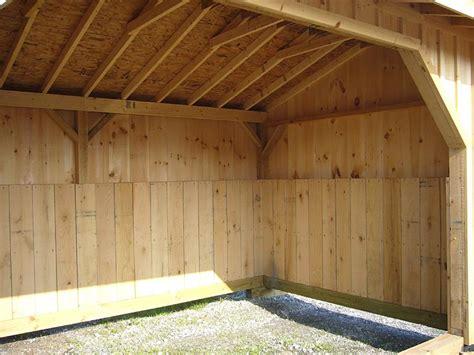 loafing shed plans horse shelter horse barn interior plans