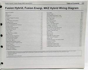 2014 Ford Fusion Hybrid Fuse Box Diagram