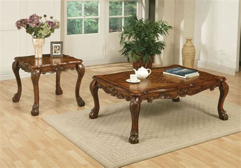 Here's a coffee table boasting light and bright natural wood tones. Top 20 of Cherry Wood Coffee Table Sets