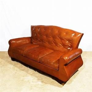 Sofa Chesterfield Style : chesterfield style sofa 1940s for sale at pamono ~ Watch28wear.com Haus und Dekorationen