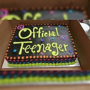 Resultado de imagen para boys thirteenth birthday cake ...
