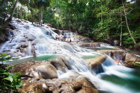 Dunns River Falls  Jamaica  World For Travel