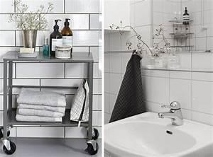 Deco Salle De Bain Gris : le joint noir ou gris pour le carrelage joli place ~ Farleysfitness.com Idées de Décoration