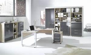 Arbeitszimmer Komplett Set MAJA SYSTEM 1205 Brombel In