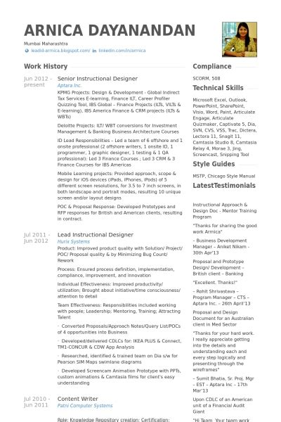 Instructional Designer Resume  Best Resume Collection. Free Resume Formats. Dialysis Nurse Resume. What Is Cover Letter Resume. Manual Testing Resume Sample For Experience. How To Prepare A Cover Letter For Resume. Bartender Job Description For Resume. Resume For Call Center Agent No Experience. Resume For Part Time Job