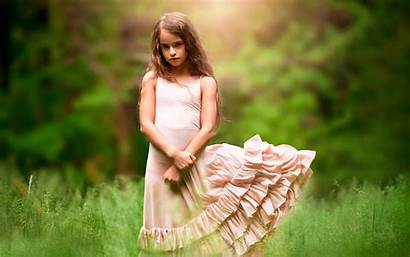 Child Grass Wind Wallpapers Nature Ashlyn Background