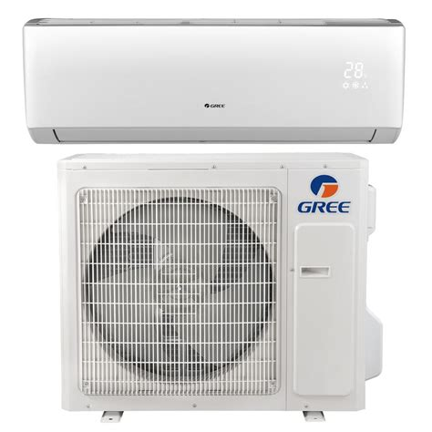 heat and air units prices gree livo 33600 btu ductless mini split air conditioner