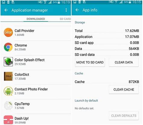 Memoria Interna Samsung S5 C 243 Mo Liberar Memoria En El Samsung Galaxy S5 Androidpit