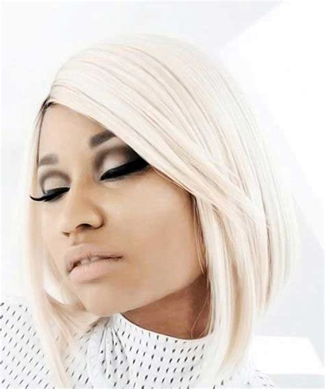 Nicki Minaj Blonde Bob Hairstyles