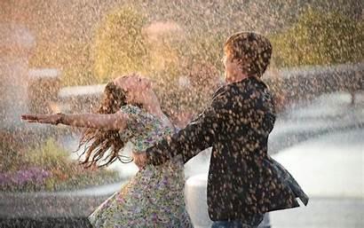 Couple Rain Dance Wet Wallhere Happiness Wallpapers