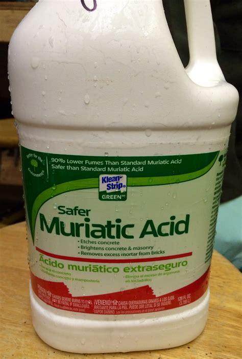 muriatic acid safer muriatic acid morgan davis flickr