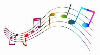 Notes Transparent Colorful Muzyczne Poranki świata Piękna