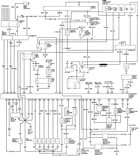 1993 ford ranger ignition wiring diagram with 93 on 1994