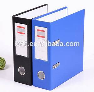 a4 hard cover file folder plastic paper lever arch file With hard plastic document folder