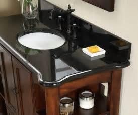 antique wyncote 48 inch bathroom vanity black granite