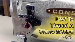 Threading The Consew 206rb 5
