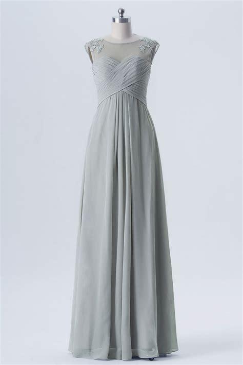 robe et grise pour mariage robe grise longue pour cocktail de mariage encolure