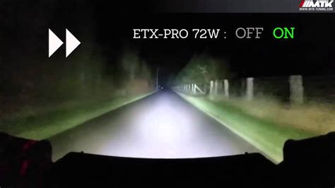 test barre led hemerra pour voiture 4x4 moto mtk tuning