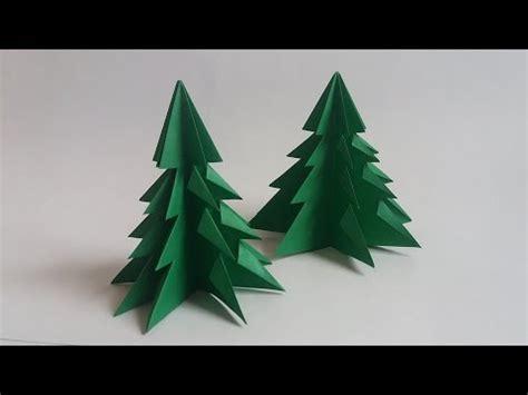 como adornar un arbol de navidad de papel origami arbol de navidad