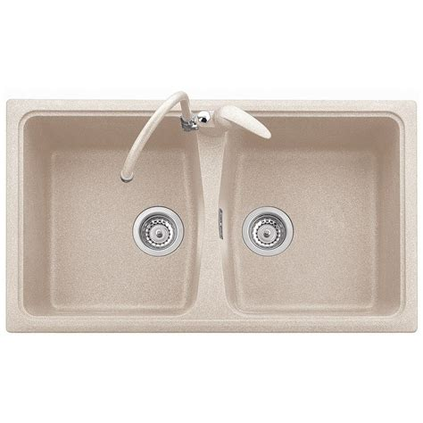 plados lavello plados sp0862 lavello 86x50 2 vasche senza gocciolatoio