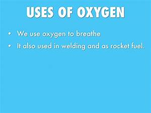 The gallery for --> Uses Of Oxygen