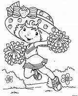 Coloring Printable Cartoon Strawberry Kissing Shortcake Boy Cool Pdf Funny Drodd sketch template