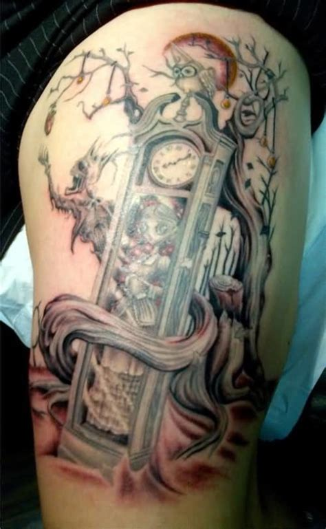 clock women tattoos images pictures tattoos hunter